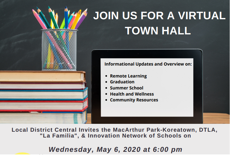 Local District Central Virtual Town Hall Thumbnail Image