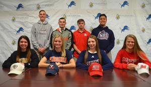 PJ Class of 2019 athletes Signing Day