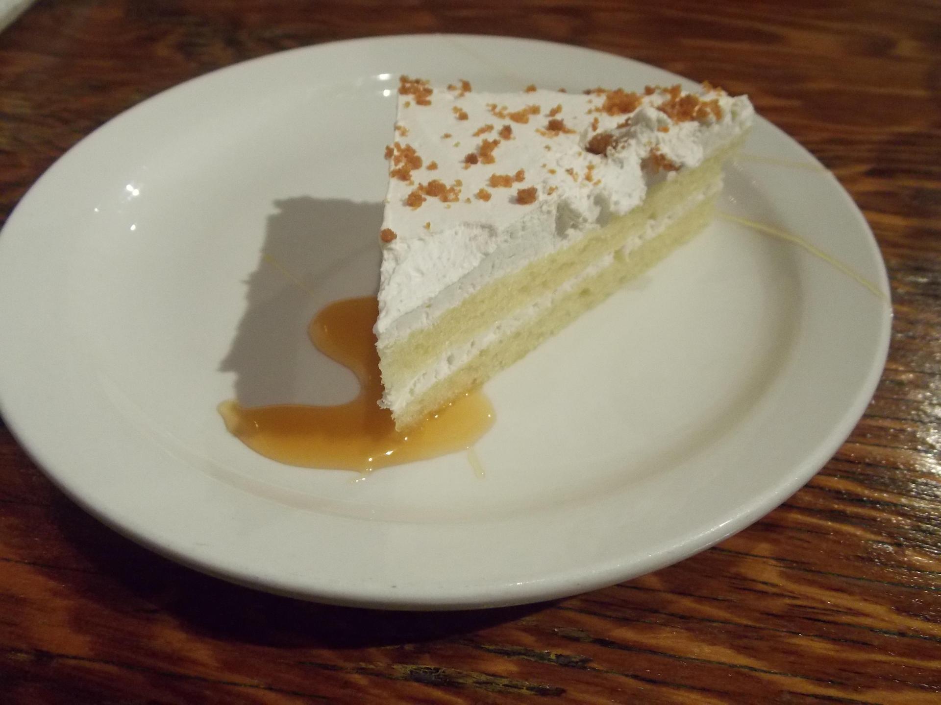 Dessert from dinner in Quebec, miam!