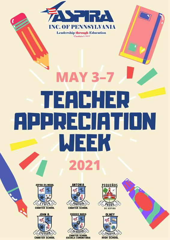 TEACHER APPRECIATION WEEK MAY 3 - 7 Featured Photo