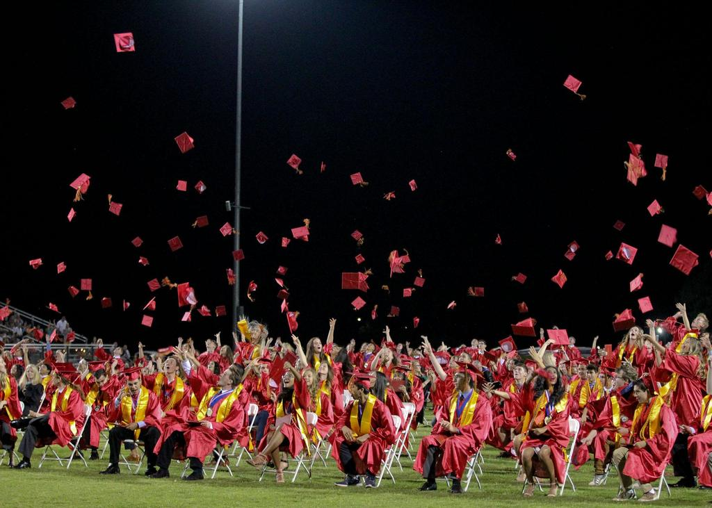 Centennial High School graduation