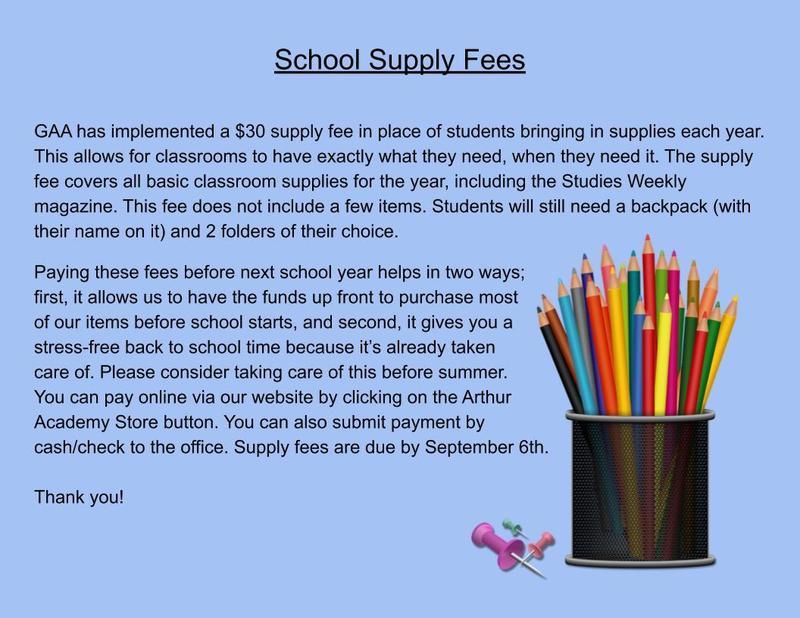 Student Supply Fee Thumbnail Image