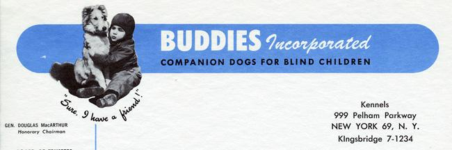 Buddies Incorperated Letterhead