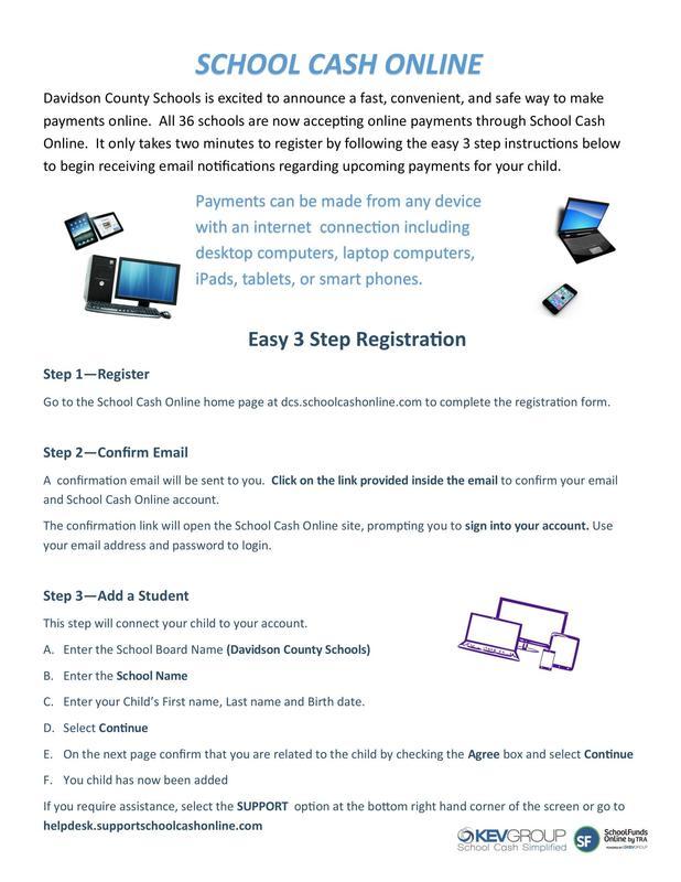 School Cash Payment System