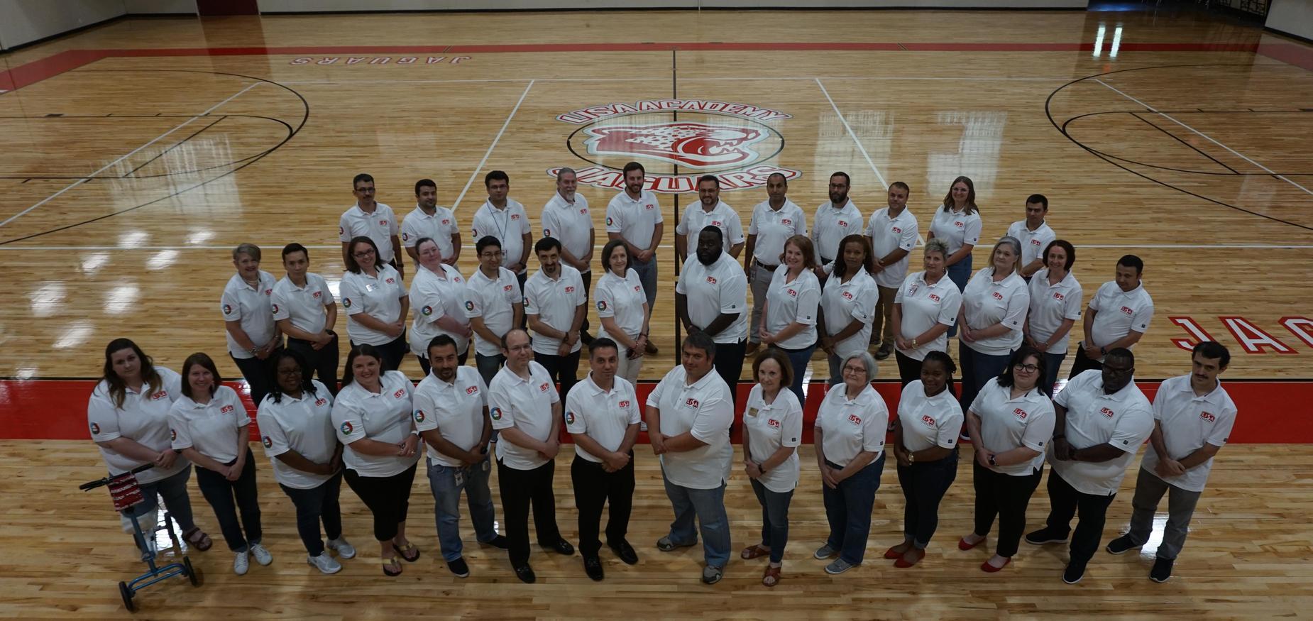 District leadership team photo