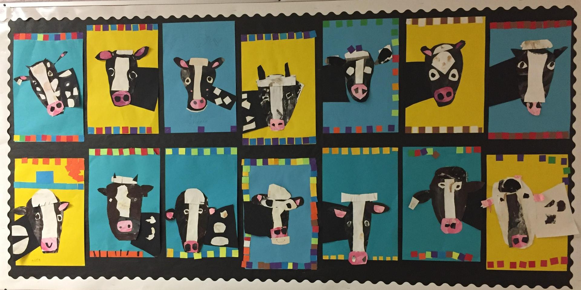 First Grade Cows