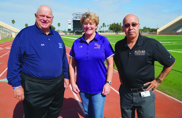 Coach Littleton, Coach Dodge and Mr. Reyna