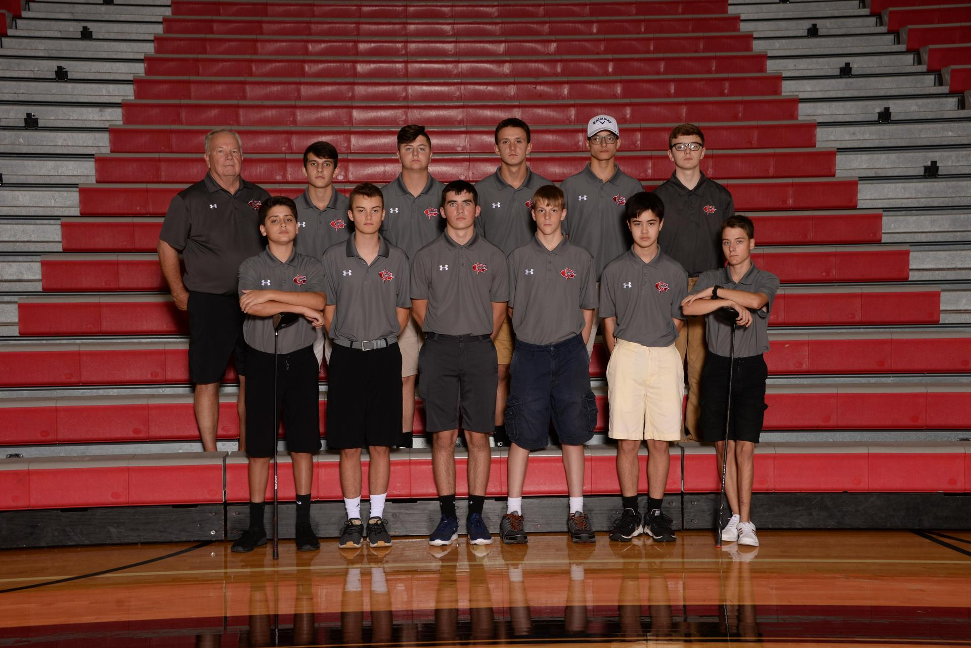 2018 Boys Golf Team