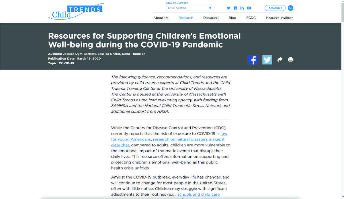 Social Emotional Resource