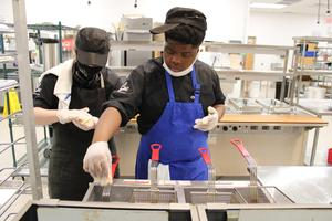 Culinary Arts students compete in a