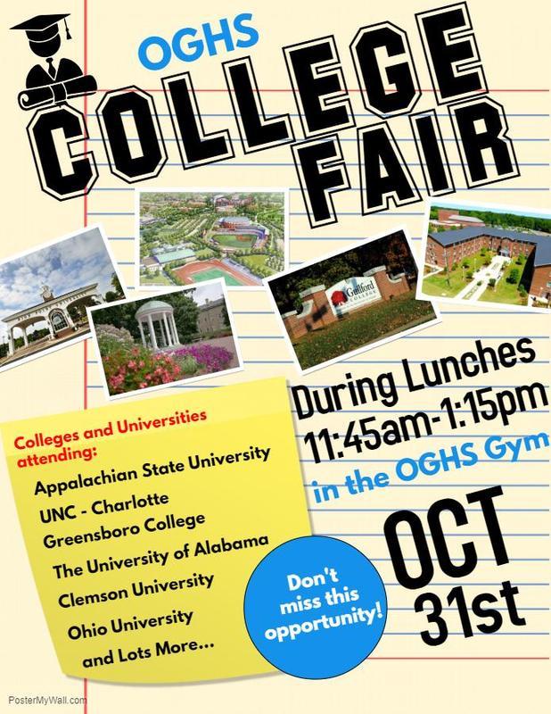 College Fair Oct 31