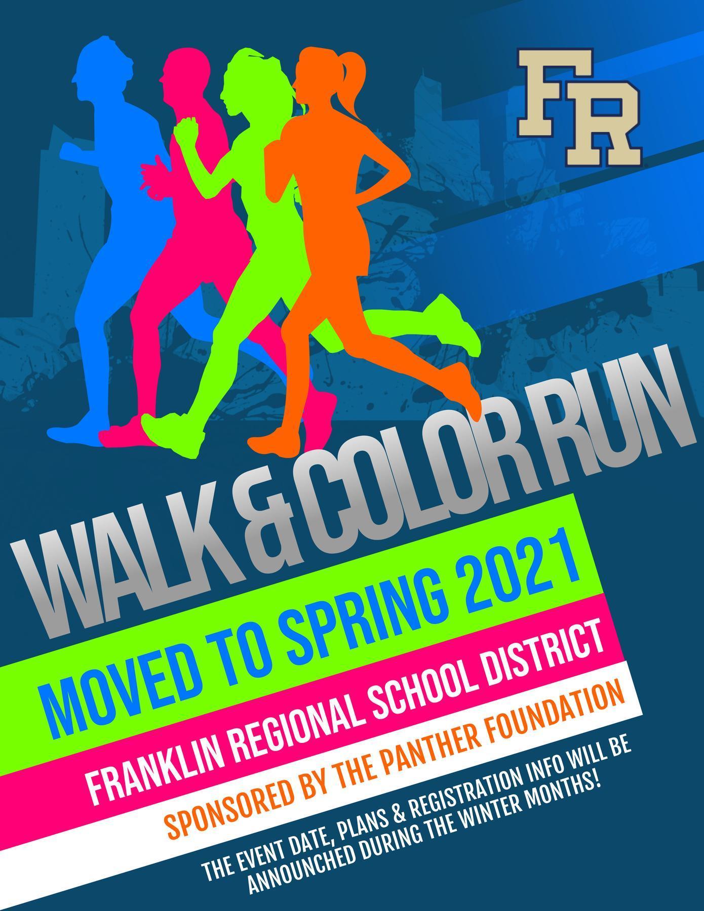 Spring 2021 Walk & Color Run