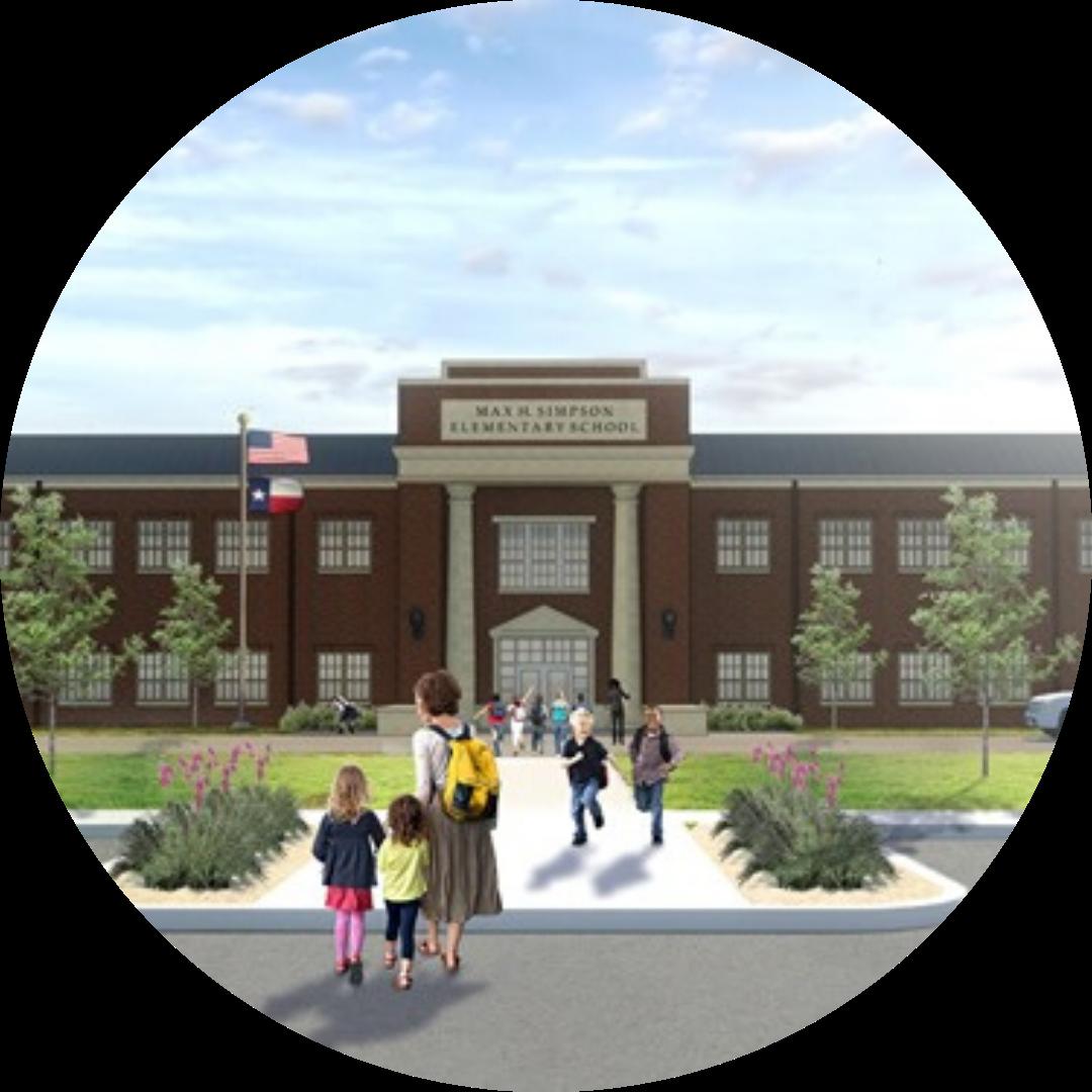 simpson elementary rendering