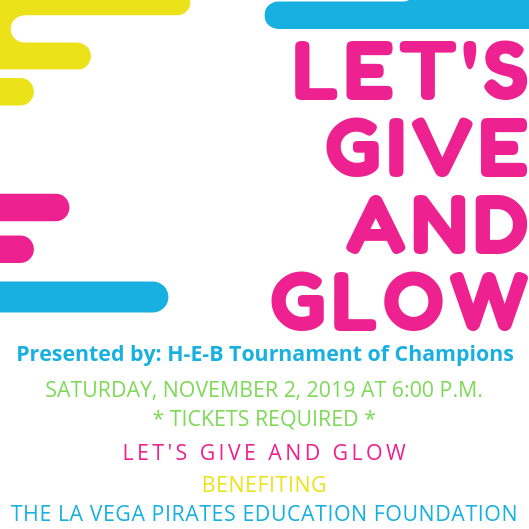 Give and Glow logo for Nov 2, tickets required