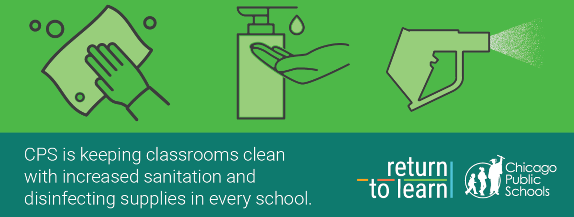 Keeping classrooms clean
