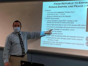 Xavier teacher an alum Jim Royce '99