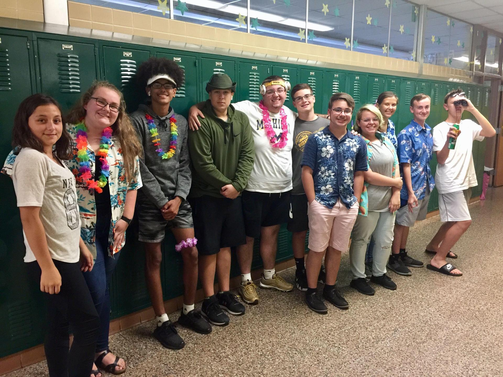 6th Hour 'Tourists' for HoCo 2018