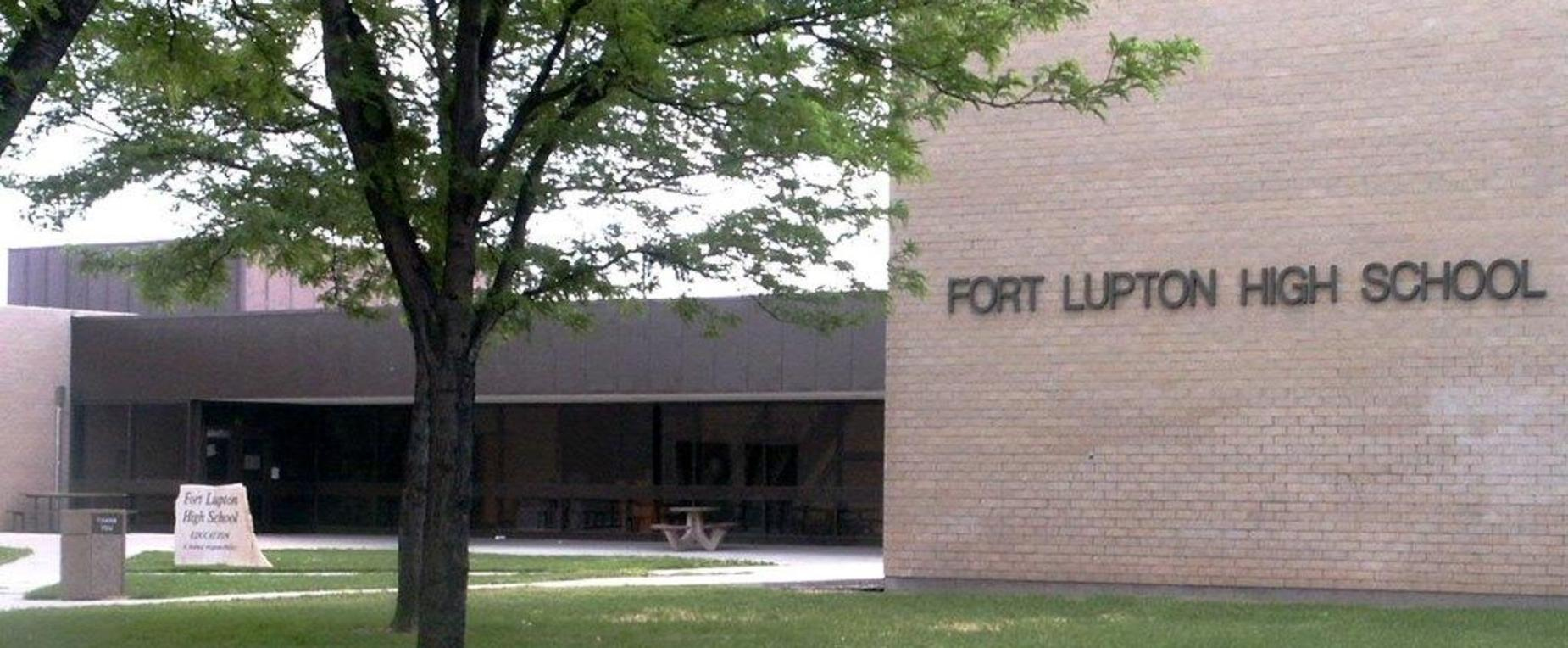External view of Ft. Lupton High School