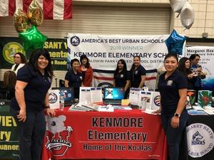 Kenmore staff at the showcase booth.