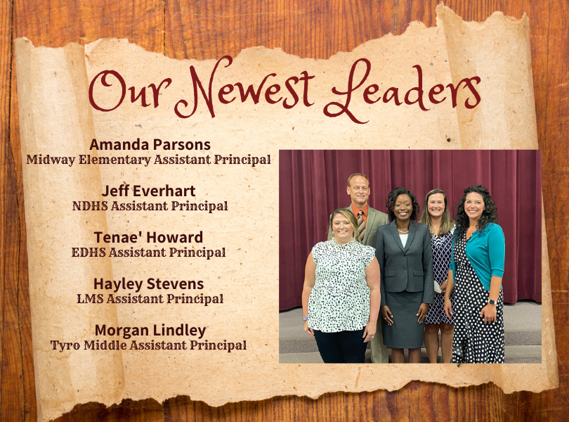 Our Newest Leaders