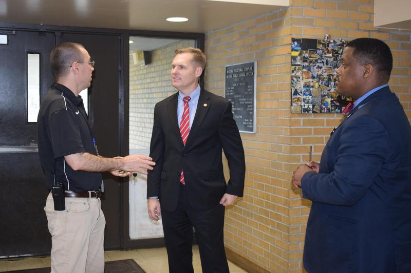 Congressman Michael Guest Visits McComb High School Business and Technology Complex  #ItsComeBackTime