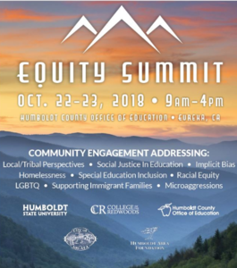 Equity Summit poster