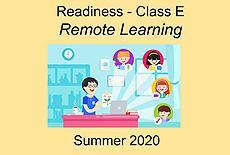 Class E Remote Learning Summer 2020