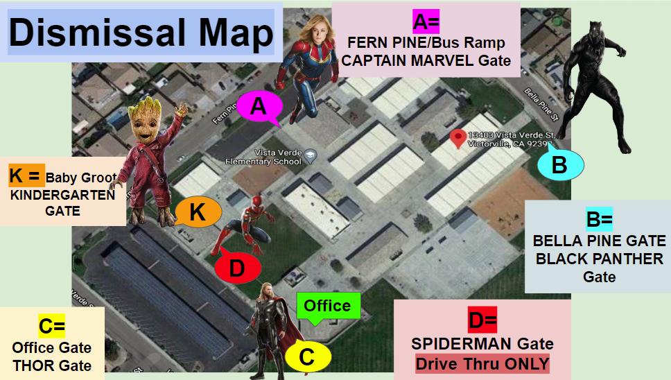 Dissmissal Map