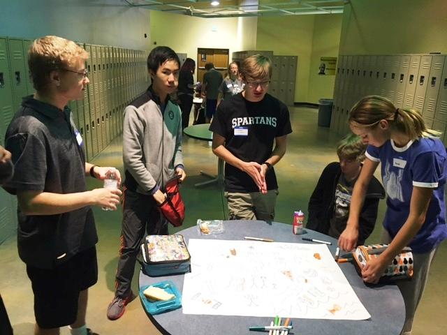 The Sources of Strength program launches for the school year. Over 50 Middle and High school students attend a 4-hour training to be Peer Leaders for this program.