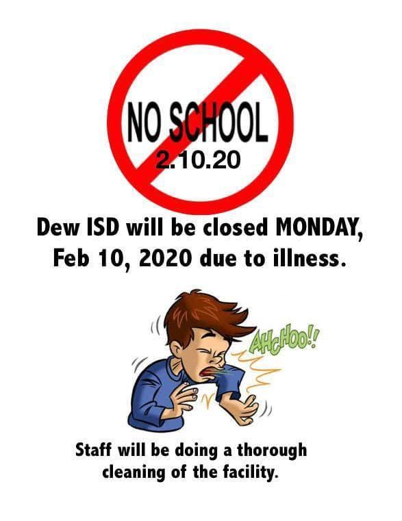 No school Monday, Feb. 10 Featured Photo
