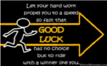 good luck quote logo