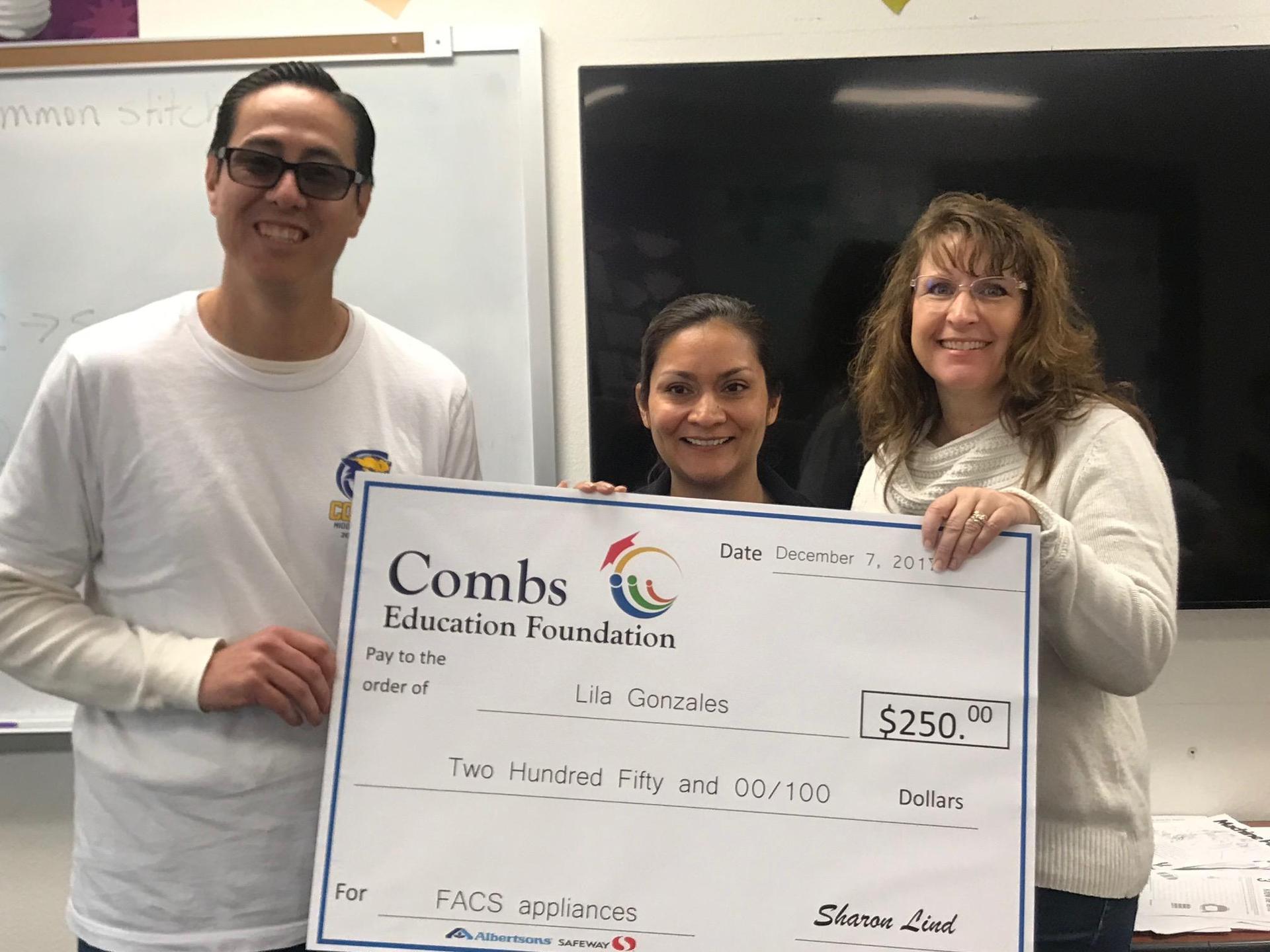 CEF Grant Winner 2018