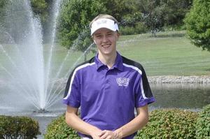 OLSH senior Colin Kyle poses in his golf uniform