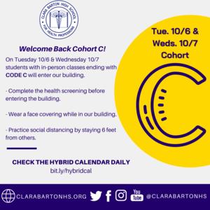 welcome cohort c poster