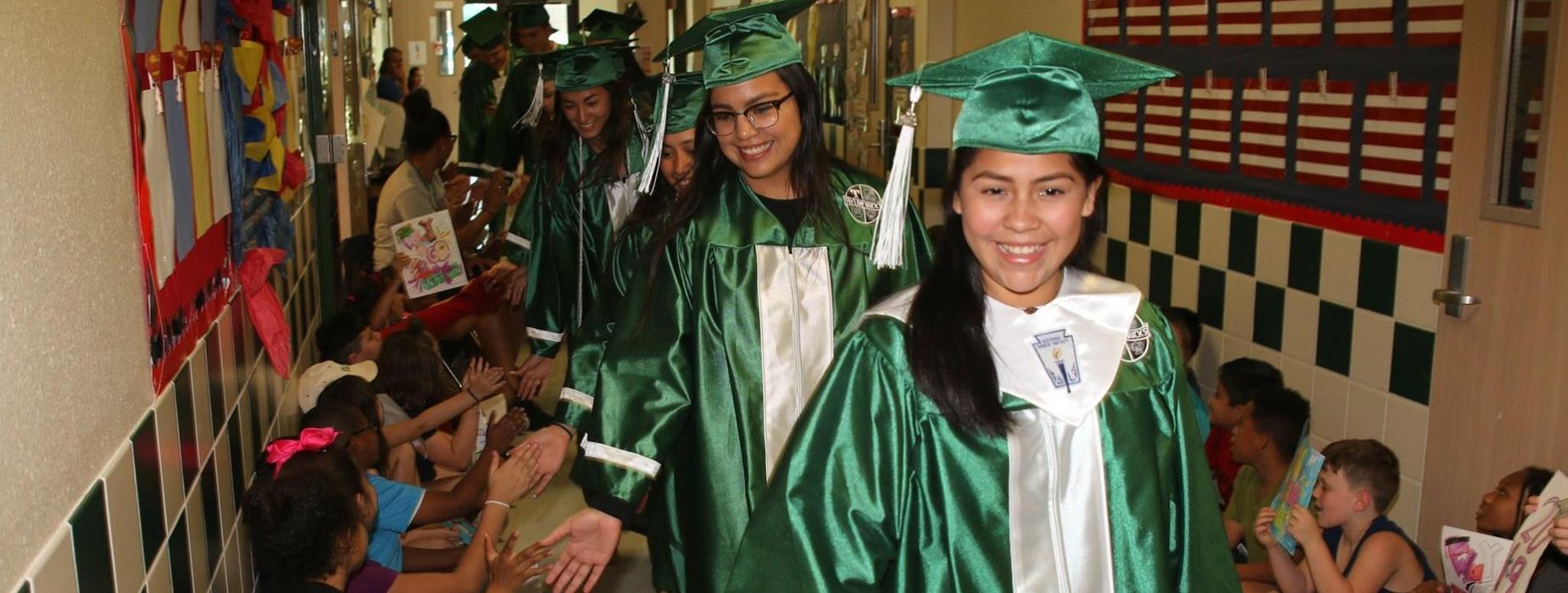 Current Grads visit future grads