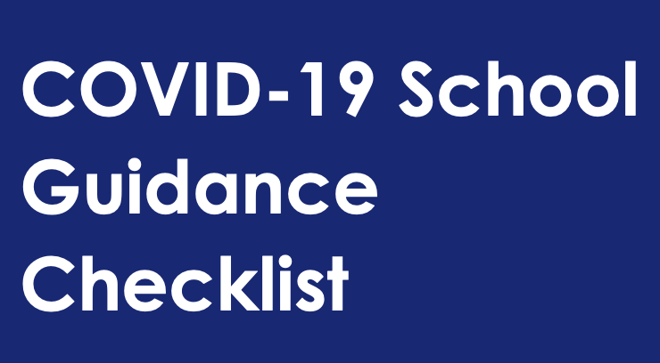 COVID-19 Safety Plan and School Guidance Checklist Thumbnail Image