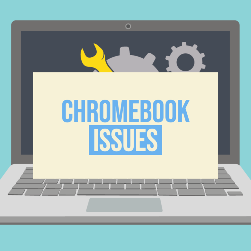 STUDENTS: Click here if you are experiencing chromebook hardware issues Thumbnail Image