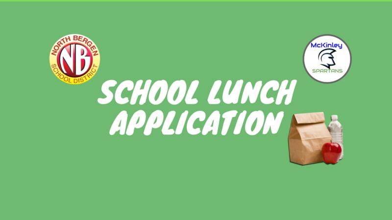 school lunch application