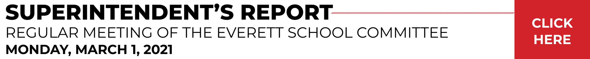 Text banner, superintendent's report