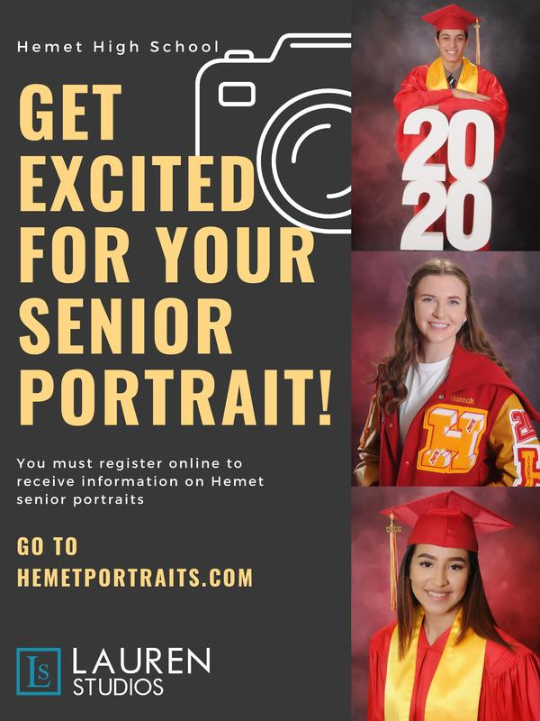 Senior Potraits Info