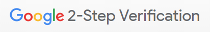 2-Step Verification button