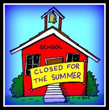 Image result for school closed for the summer