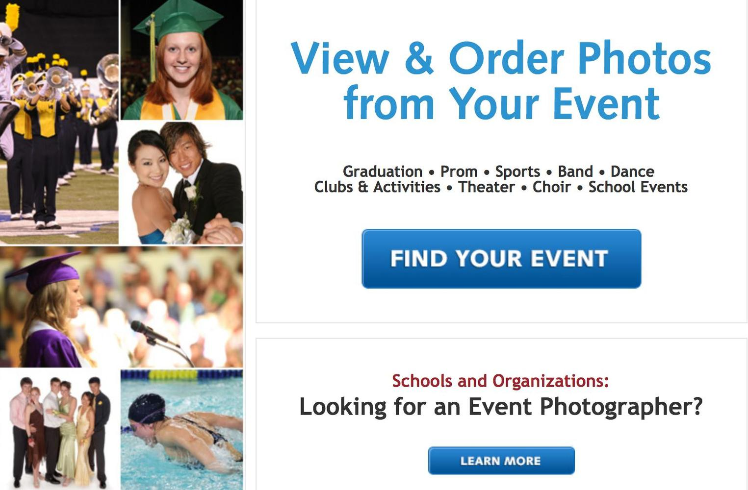 View & Order 8th Grade Promotion Photos