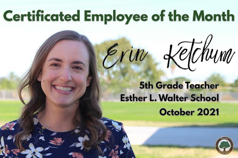 Erin Ketchum, 5th Grade Teacher at Esther L. Walter School