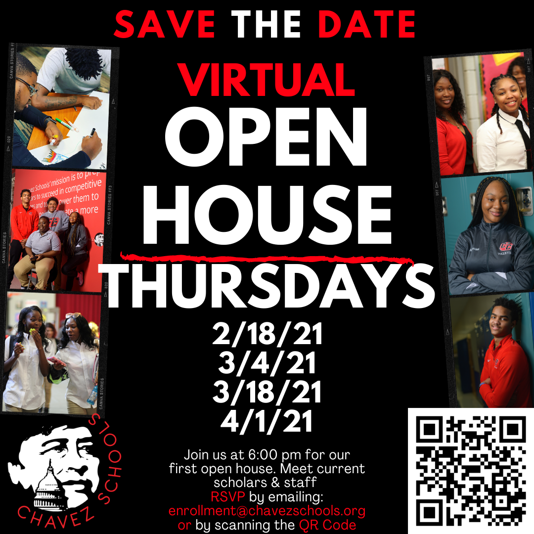Save the date - Virtual Open House Thursdays