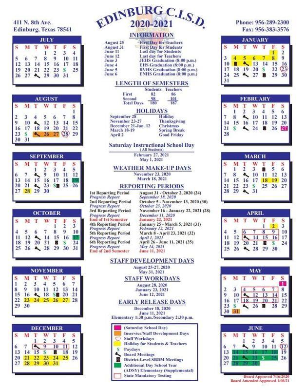 20-21 Calendar - New
