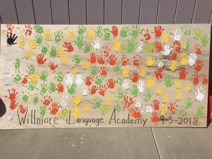 Handprints at Garden