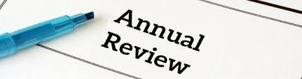 revisión anual