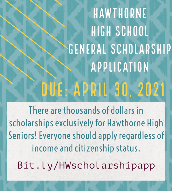 HHS General Scholarship Application