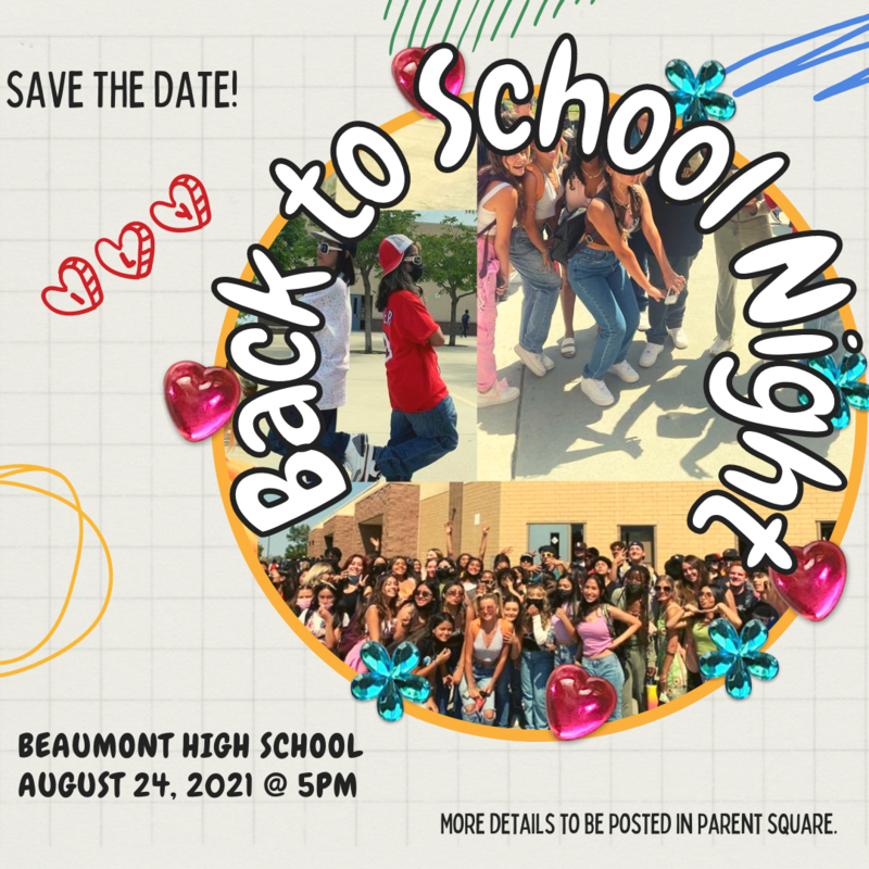Back to School Night August 24, 2021 Featured Photo